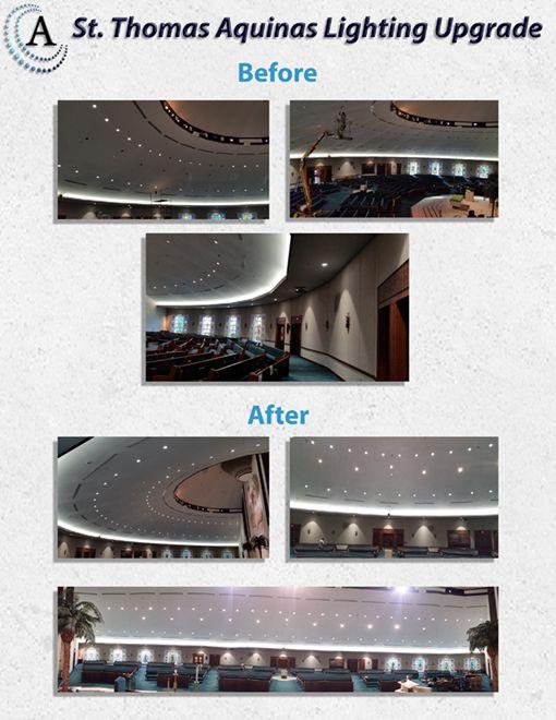 STA LED Upgrade