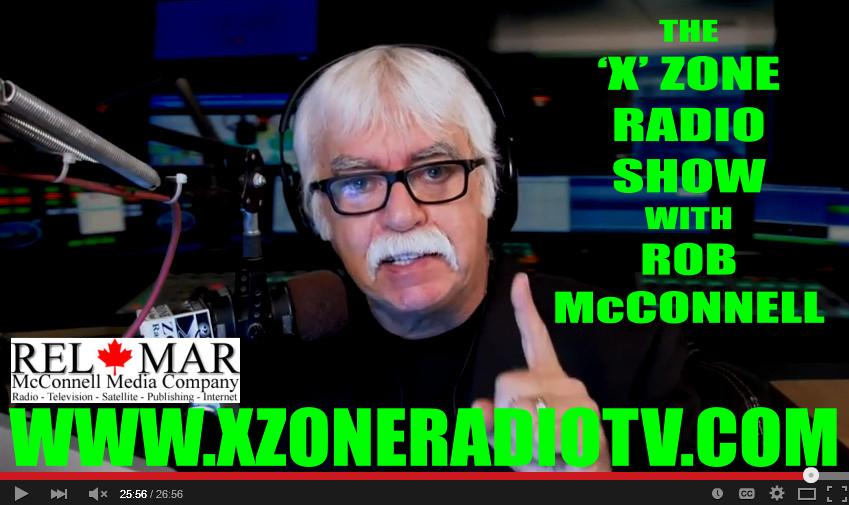 Rob McConnell - Host of The 'X' Zone Radio & TV Show