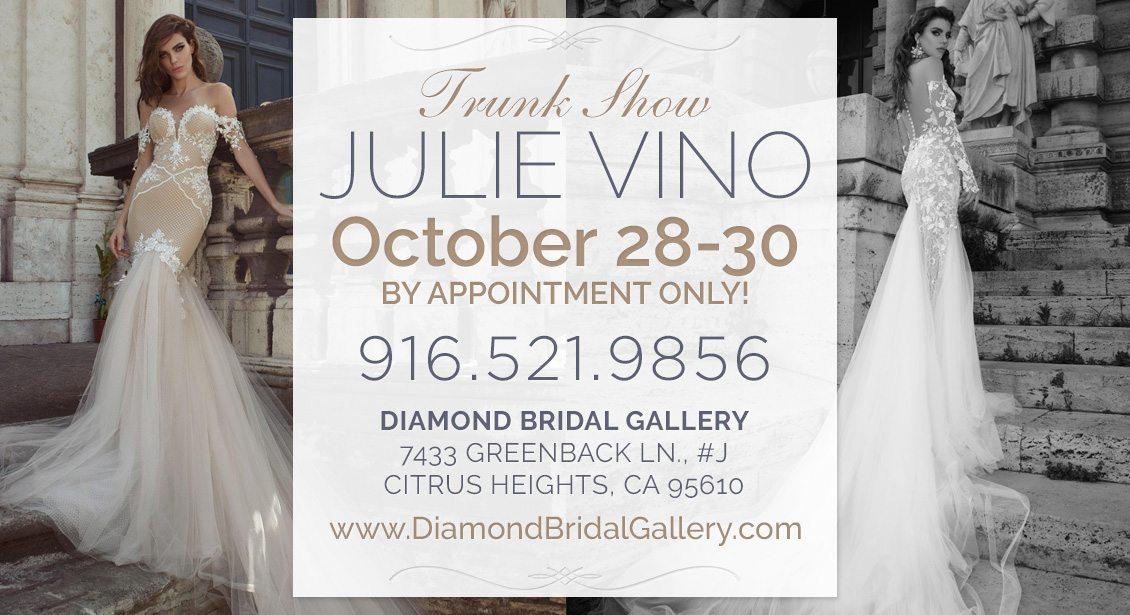 diamond bridal gallery -julie-vino-trunkshow