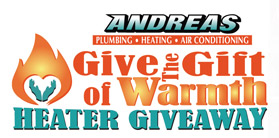 Gift of Warmth Heater Giveaway winner announced.
