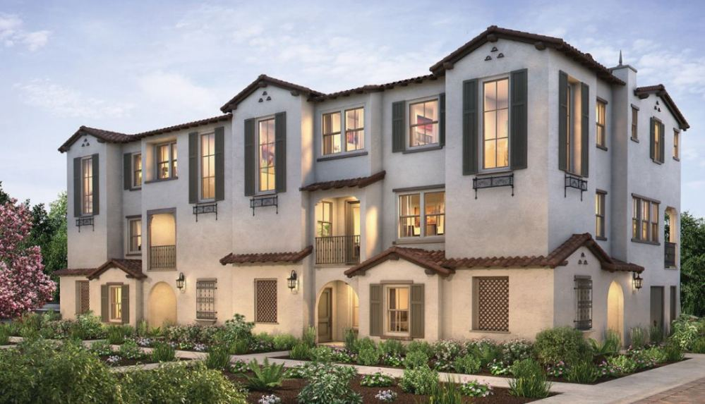 New phase new townhome living at cornerstone by shea for Detached townhomes