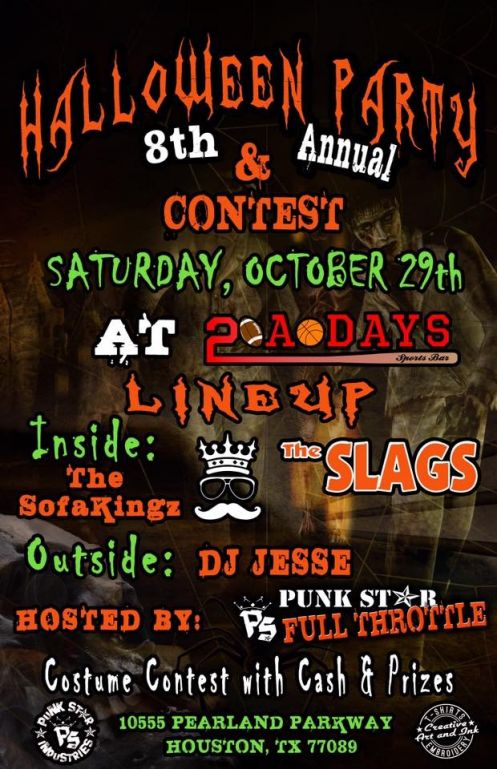 Punkstar Industries, Inc. 8th Annual Halloween Par