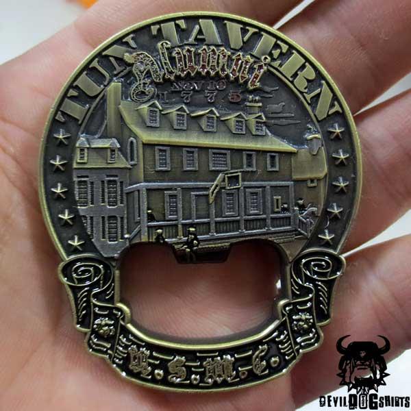US Marine Corps Tun Tavern Alumni Challenge Coin