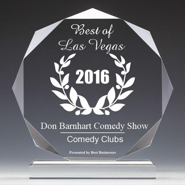 Don Barnhart Comedy Show 2016 Award