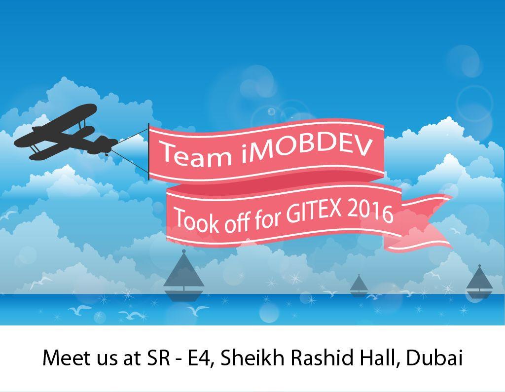 iMOBDEV team is off to Dubai for GITEX 2016