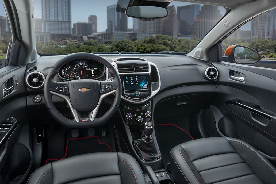 Chevrolet of homewood is giving away a brand new sonic to a family in need chevrolet of for 2017 chevrolet sonic sedan interior