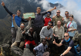Victorious team on the DRC expedition with Secret Compass