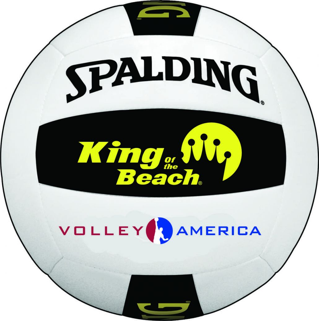 Spalding King of the Beach, Official Volleyball Sponsor of Volley America