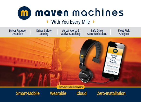 Maven Machines. Mobile-Wearable Driver Safety