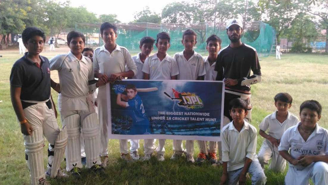 IJPL T20 team at cricket academy