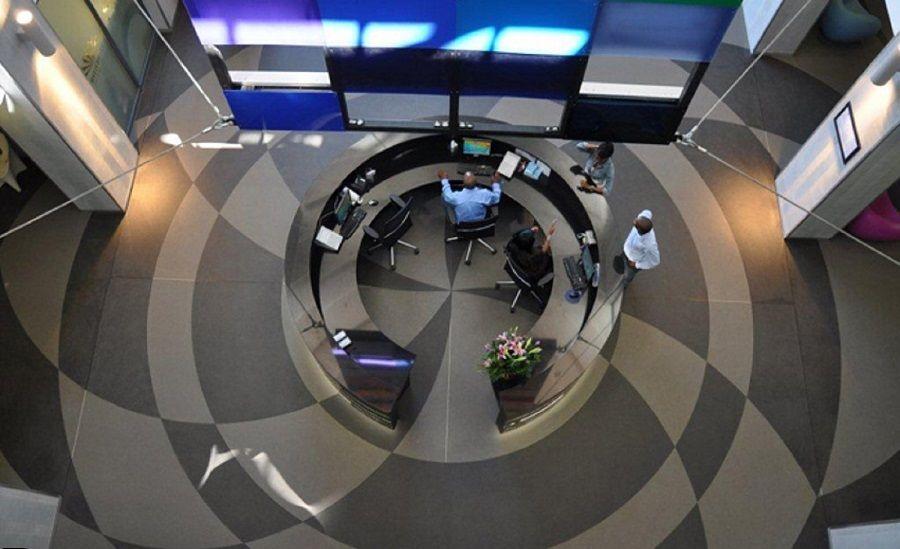 Quartz Carpet - Seamless Stone Flooring Aerial View