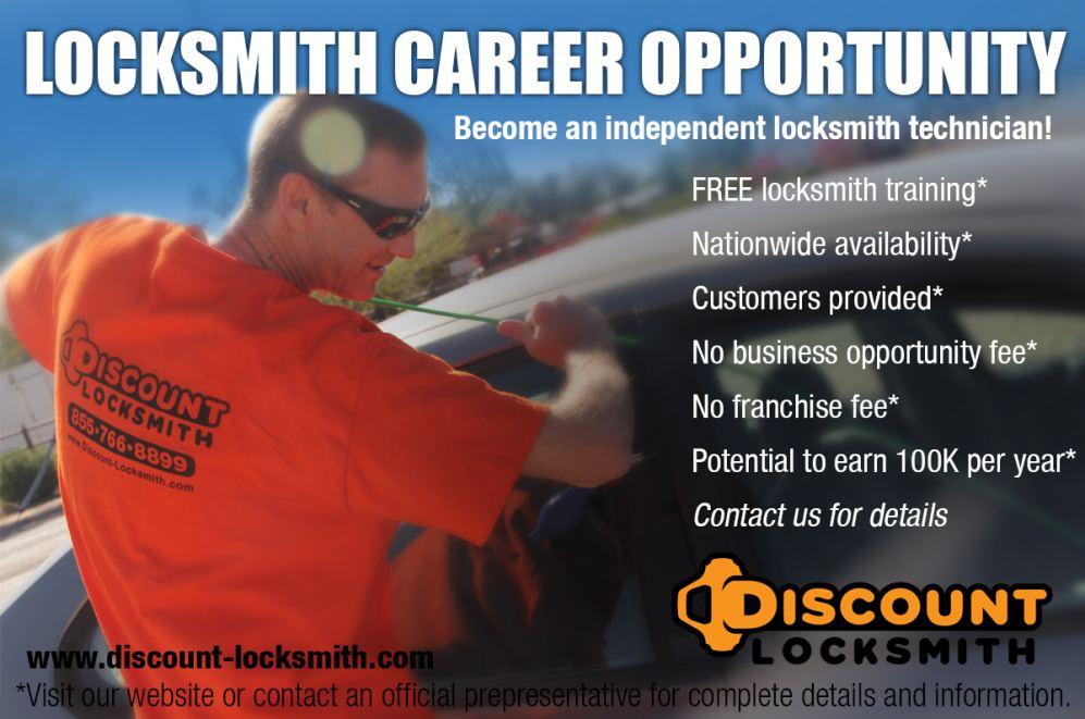 Locksmith Career Opportunity