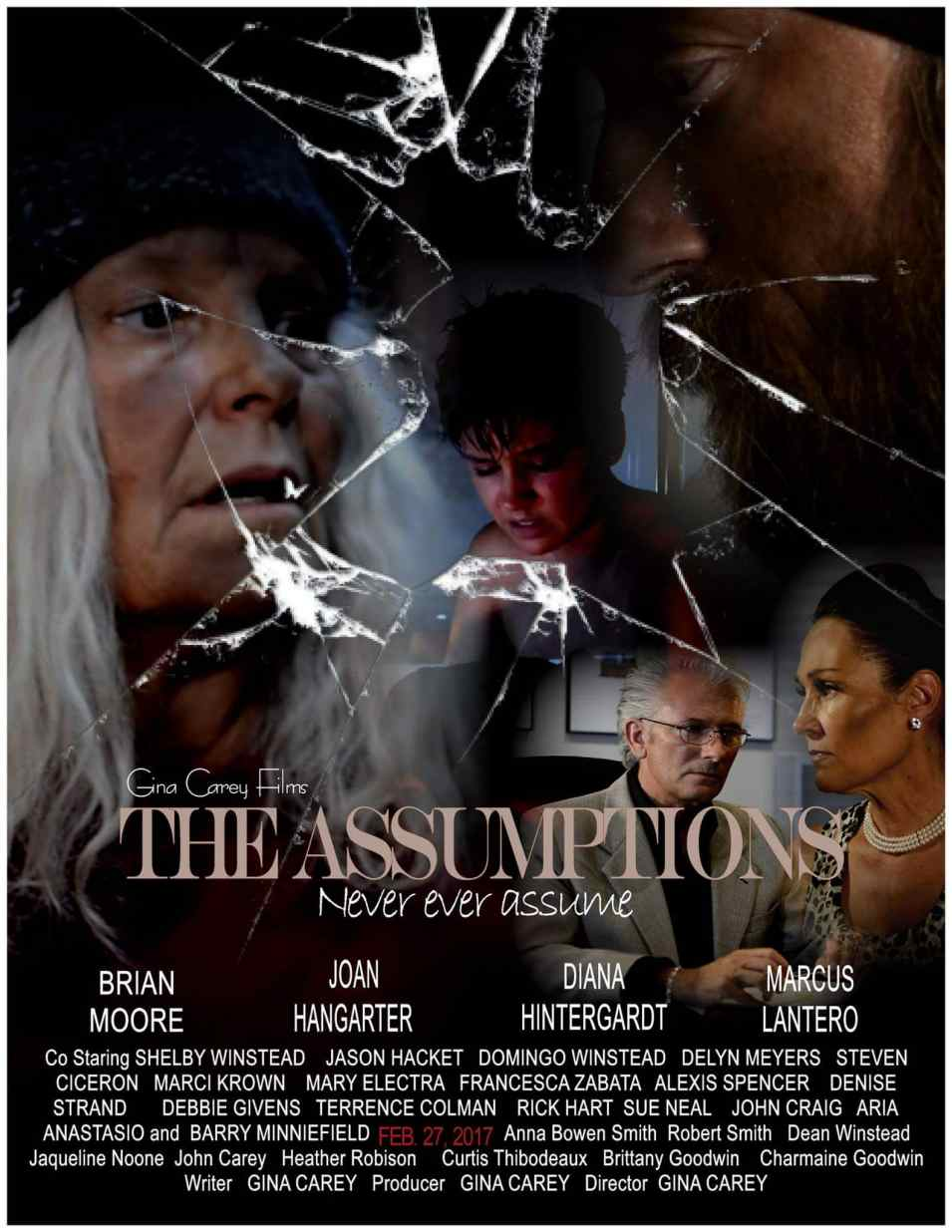 The Assumptions Film Poster, Photo courtesy Gina Carey Films
