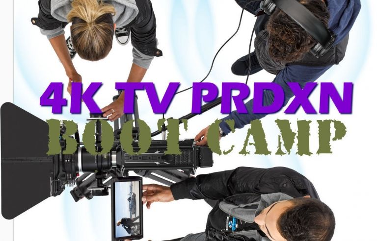 VLN Academy 4K Film & TV PRDXN Boot Camps
