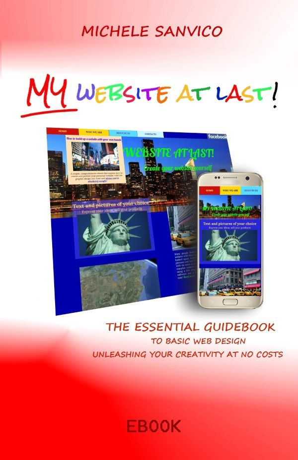My Website At Last - The essential guidebook to basic web design