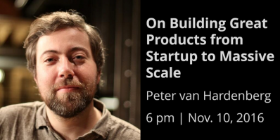 Peter van Hardenberg speaks about building great products from startup to scale