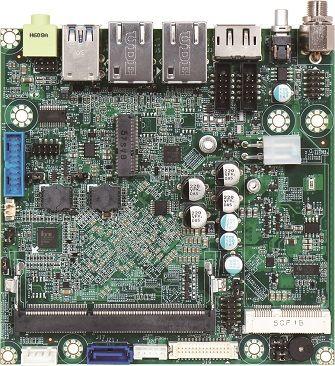 Nano-ITX embedded board featuring Intel Atom processor E3900 series