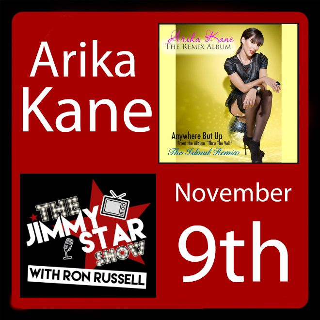 Arika Kane on The Jimmy Star Show With Ron Russell
