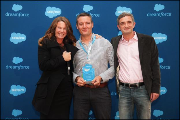 makepositive wins Salesforce Partner Innovation Award