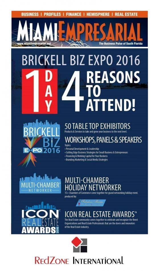 4-Reasons to Participate at #BrickellBiz Expo 2016