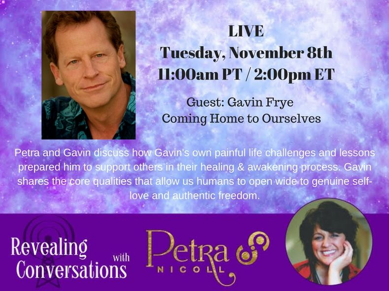 Gavin Frye - Revealing Conversations with Petra Nicoll