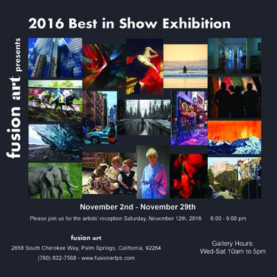 Fusion Art Presents 2016 Best in Show Exhibition
