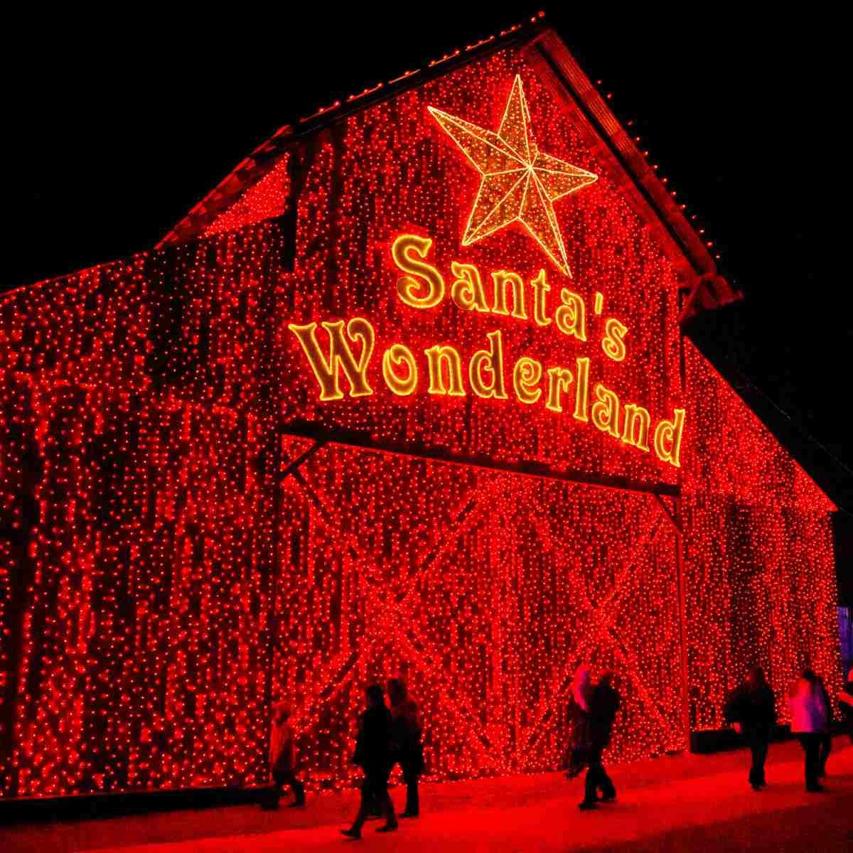 Santa's Wonderland Barn