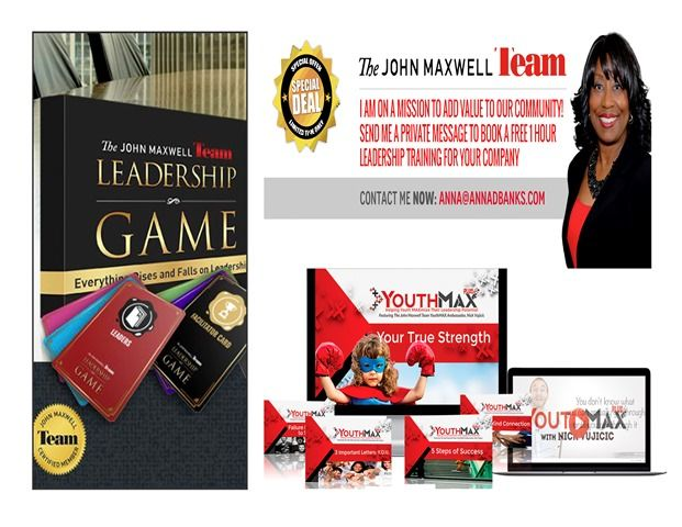 Free Training Opportunities Available | www.johncmaxwellgroup.com/annabanks