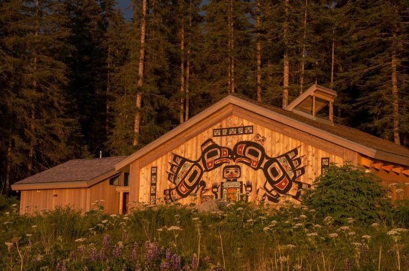 Huna Tribal house, from NPS