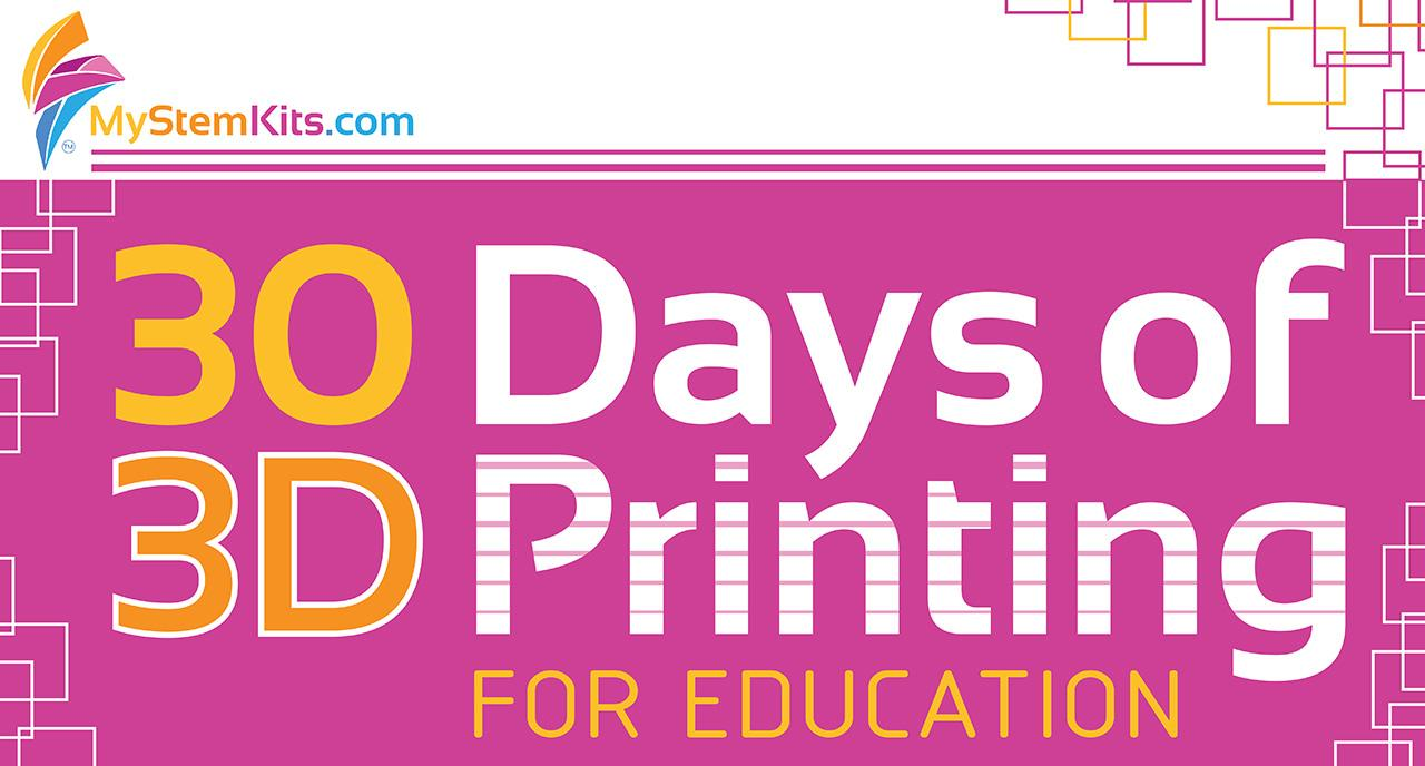 30 tips, tricks and resources for those 3D printing in an Education environment.