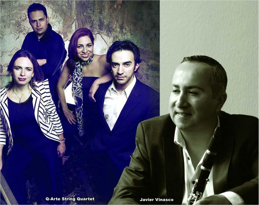 Javier Vinasco & Q-Arte String Cuartet