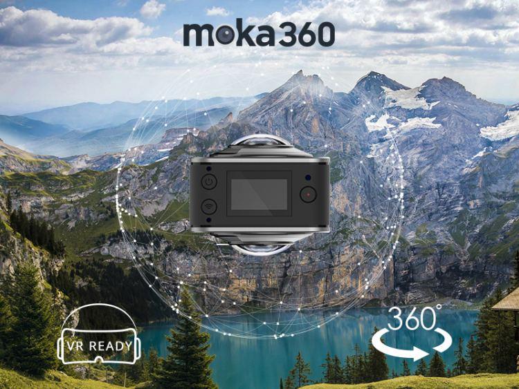 Moka360 - World's Smallest 360 Camera