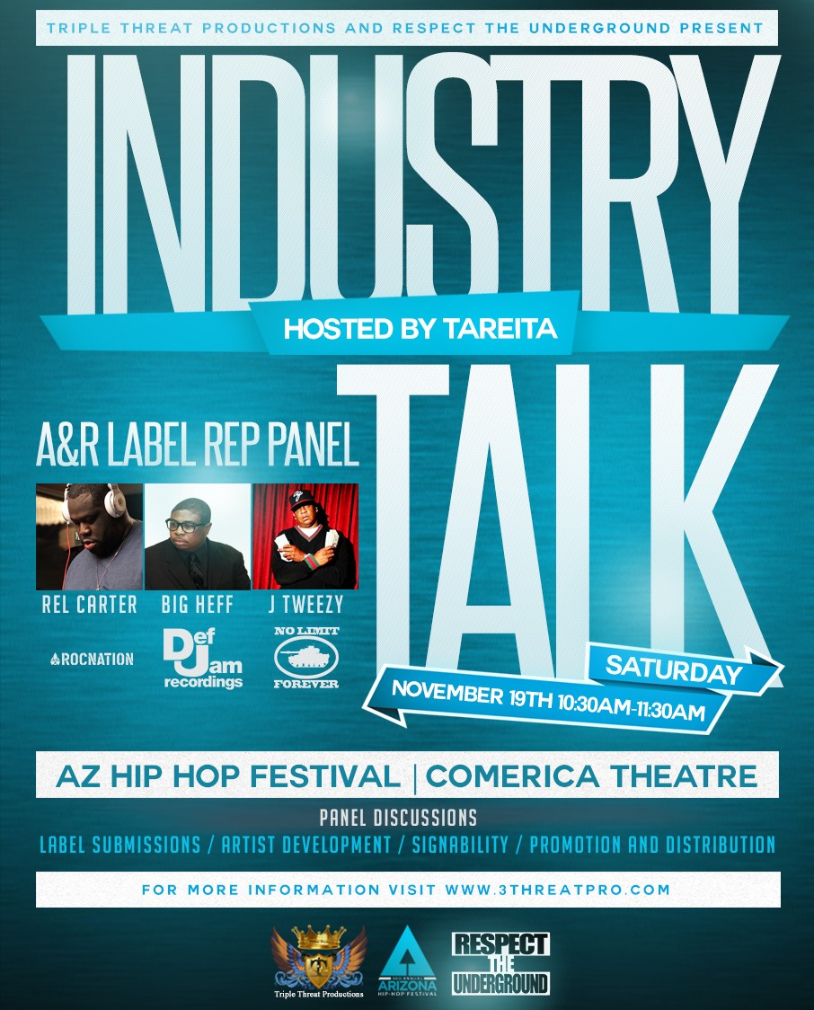 "A&R Panel - ""Industry Talk"""