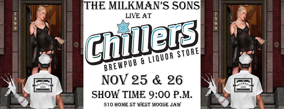 Live at Chillers Nov 25 - 26