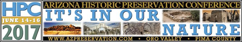 2017 Arizona Historic Preservation Conference