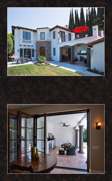 Los angeles home builder roger perron completes new home for New house in los angeles
