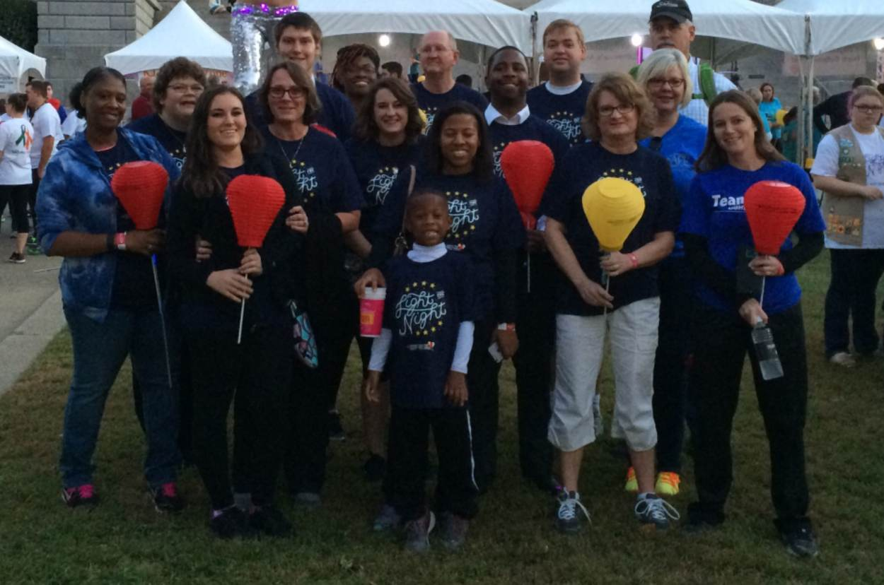 SAFE Light the Night Walkers Generate Over $10,500 for