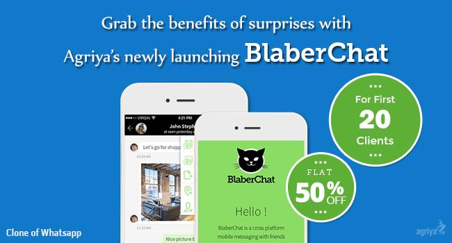 BlaberChat - WhatsApp Clone Pre-Launch