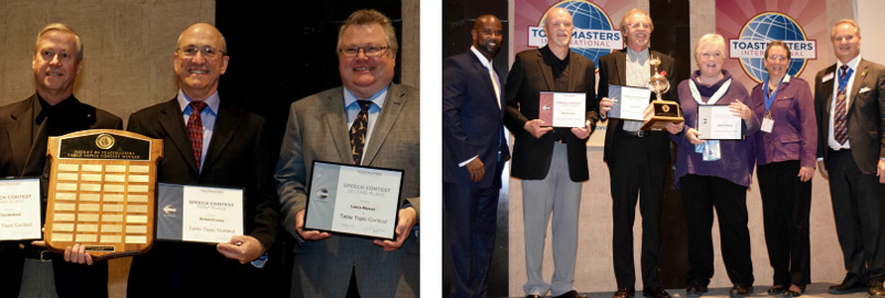 Table Topics and Humorous Contest Winners From Fall Conference 2015