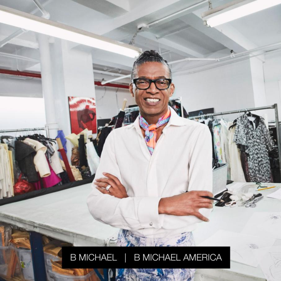 Fashion Designer B Michael