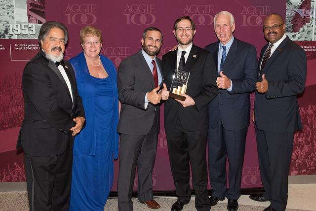 Refund Retriever Aggie 100 Award Presentation