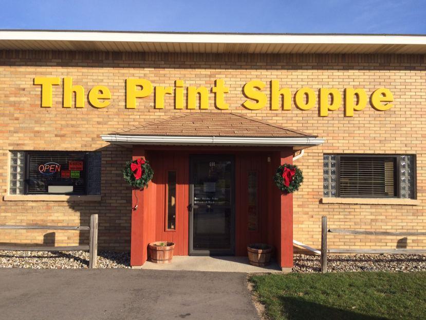 The Print Shoppe, Bad Axe, MI