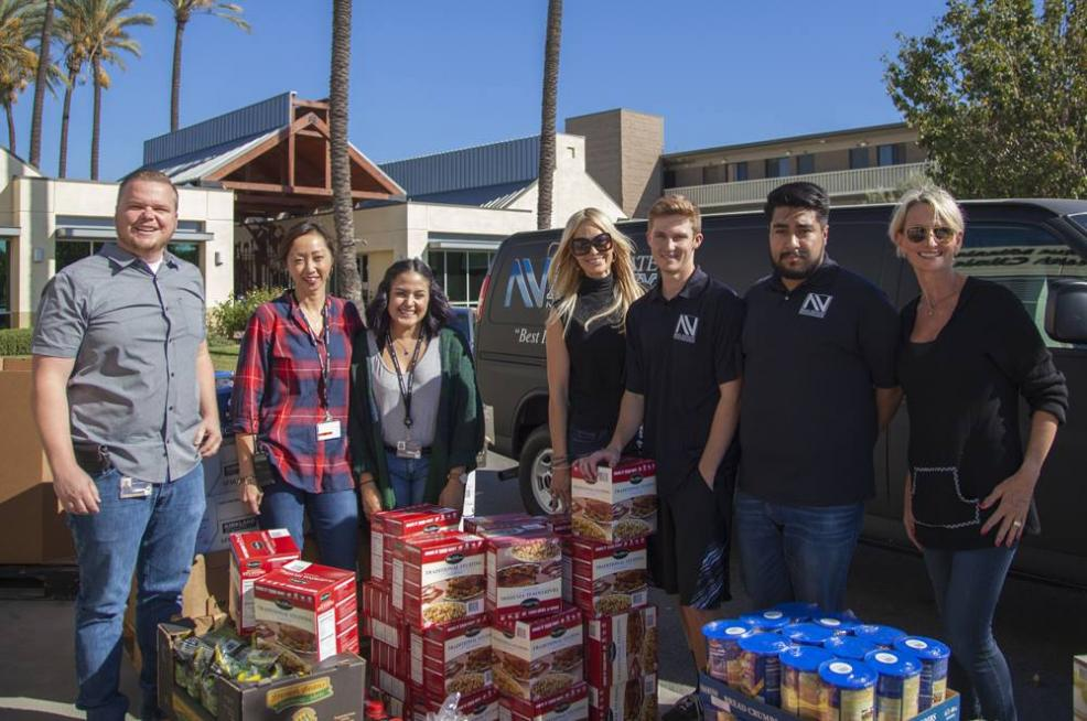 NVREA Team and the Orange County Rescue Mission