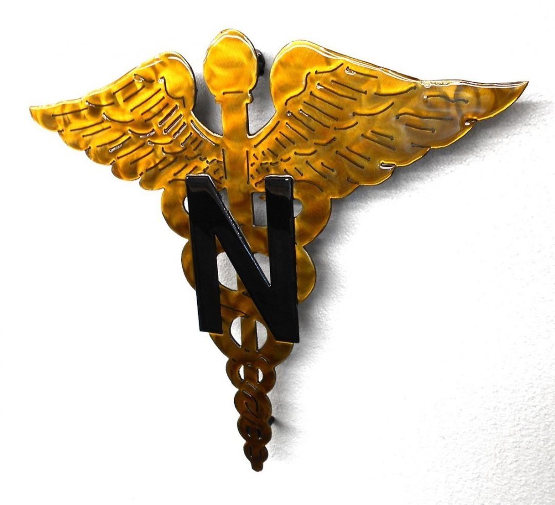 Nurse Corps Fluid Metal Sign on deck!