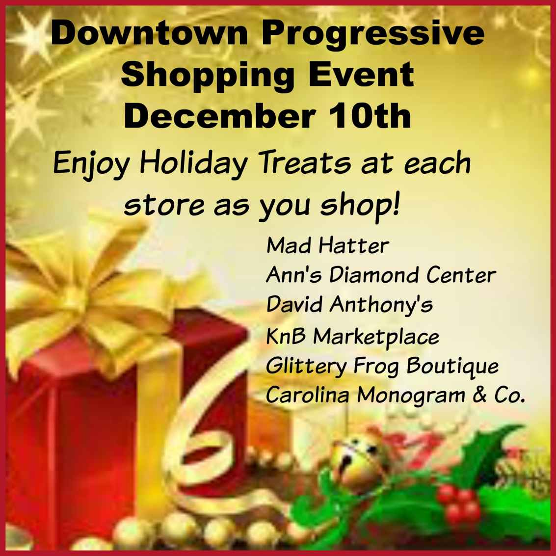 December 10th Shopping Event