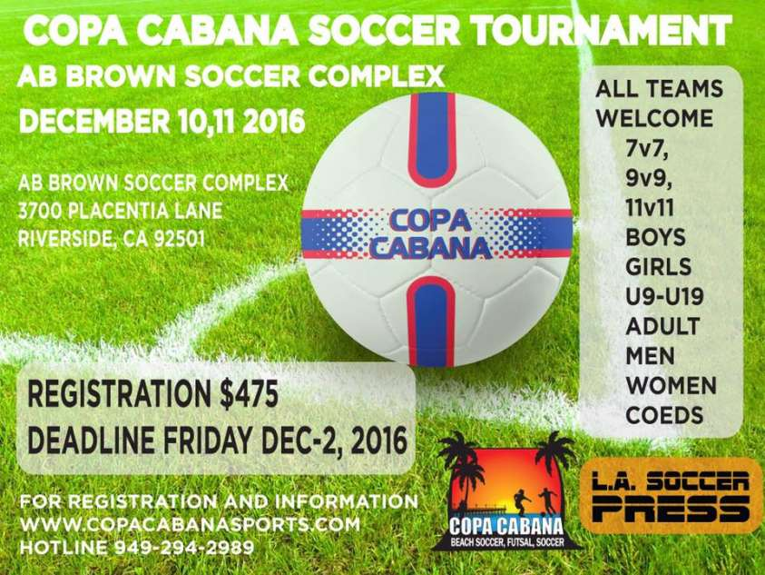 Copa Riverside Tourny