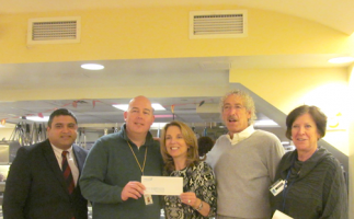 OCEANAIR, drops off a donation to help homeless women at WLP