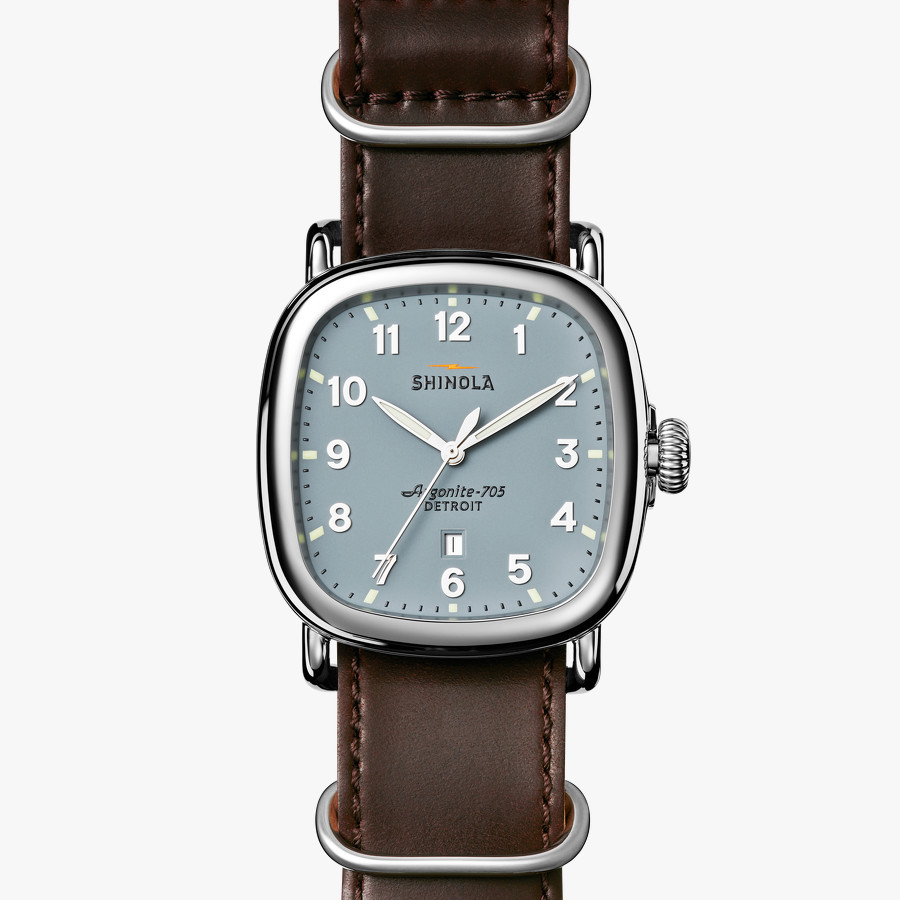 The Guardian men's watch by Shinola, available exclusively at Lyle Husar Designs