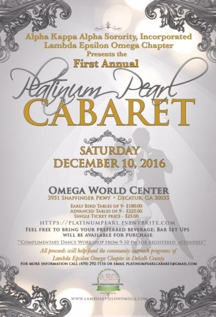 Platinum Pearl Cabaret