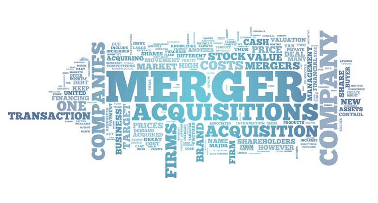 merger and acq The phrase mergers and acquisitions (abbreviated m&a) refers to the aspect of corporate strategy, corporate finance and management dealing with the buying, selling and combining of different companies that can aid, finance, or help a growing company in a given industry grow rapidly without.
